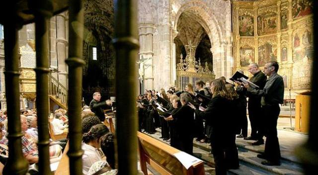 avila cathedral concert 2013