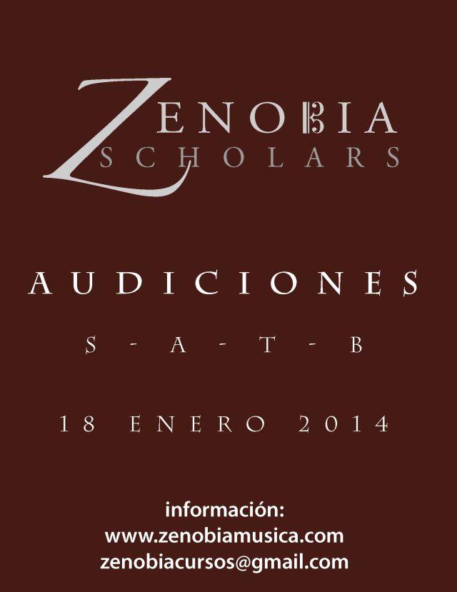 Scholars audiciones 2014